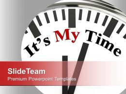 My Time Business Concept Powerpoint Templates Ppt Themes And Graphics 0113