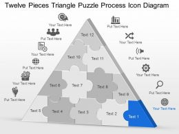 my_twelve_pieces_triangle_puzzle_process_icon_diagram_powerpoint_template_slide_Slide01