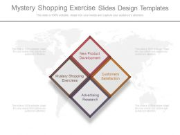 Mystery Shopping Exercise Slides Design Templates