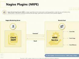 Nagios Plugins NRPE Check Memory Ppt Powerpoint Presentation Ideas Skills