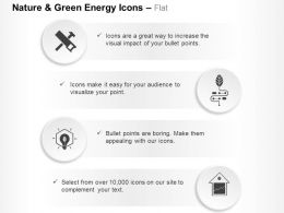 Nail Saw Green Energy Production Power House Ppt Icons Graphics