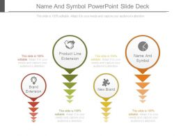 Name And Symbol Powerpoint Slide Deck