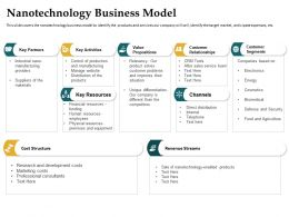 Nanotechnology Business Model Professional Consultants Ppt Powerpoint Diagrams