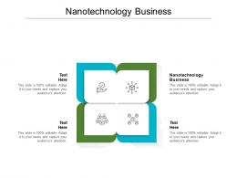 Nanotechnology Business Ppt Powerpoint Presentation Pictures Tips Cpb