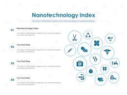 Nanotechnology Index Ppt Powerpoint Presentation Slides Show