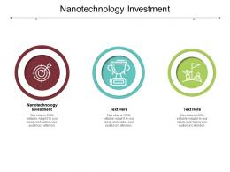 Nanotechnology Investment Ppt Powerpoint Presentation Summary Visuals Cpb
