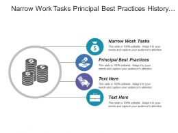 Narrow Work Tasks Principal Best Practices History Commitment