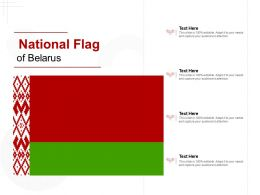National Flag Of Belarus