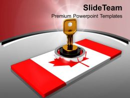 National Security Canada Finance Profit PowerPoint Templates PPT Themes And Graphics 0213