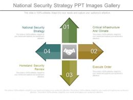 National Security Strategy Ppt Images Gallery
