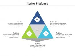 Native Platforms Ppt Powerpoint Presentation Icon Graphic Images Cpb