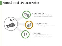Natural Food Ppt Inspiration