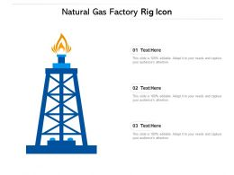 Natural Gas Factory Rig Icon