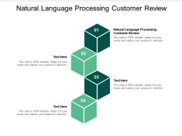 Natural Language Processing Customer Review Ppt Powerpoint Presentation File Slide Cpb