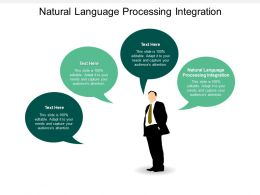 Natural Language Processing Integration Ppt Powerpoint Presentation Professional Diagrams Cpb