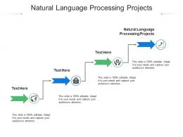 Natural Language Processing Projects Ppt Powerpoint Presentation Slides Sample Cpb