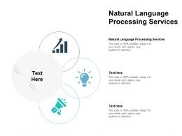 Natural Language Processing Services Ppt Powerpoint Presentation Gallery Images Cpb