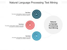 Natural Language Processing Text Mining Ppt Powerpoint Presentation Infographic Cpb