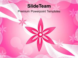 Nature Best Powerpoint Templates Floral01 Beauty Diagram Ppt Designs