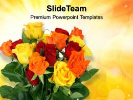 Nature Best Powerpoint Templates Floral01 Beauty Image Ppt Slides