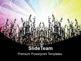 Nature Best Powerpoint Templates Floral01 Business Ppt Presentation