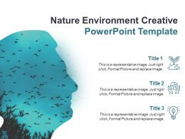 Nature Environment Creative Powerpoint Template