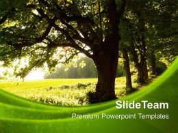 Nature Pics Powerpoint Templates Green Environment Process Ppt Themes