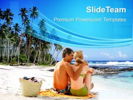 Nature Pictures Powerpoint Templates Beach Vacation Business Ppt Slides