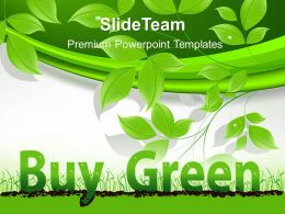 Nature Reserves Powerpoint Templates Buy Green Image Ppt Slides