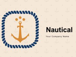 Nautical Antique Compass Glowing Marine Business Document