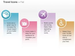 Navigation Bag Aeroplane Handicapped Ppt Icons Graphics
