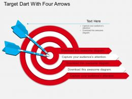 nc_target_dart_with_four_arrows_flat_powerpoint_design_Slide01