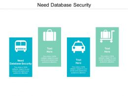 Need Database Security Ppt Powerpoint Presentation Portfolio Inspiration Cpb
