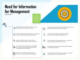 Need For Information For Management Prevent Ppt Powerpoint Presentation Ideas Clipart Images