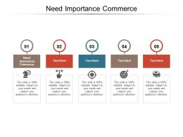 Need Importance Commerce Ppt Powerpoint Presentation Show Inspiration Cpb