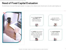 Need Of Fixed Capital Evaluation Future Ppt Powerpoint Presentation Infographics Styles