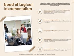 Need Of Logical Incrementalism Active Participation Ppt Powerpoint Presentation Skills