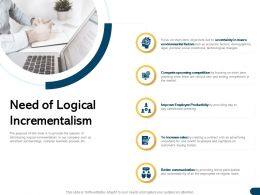 Need Of Logical Incrementalism Legal Exiting Ppt Powerpoint Presentation File Layout