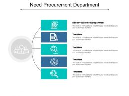 Need Procurement Department Ppt Powerpoint Presentation Gallery Templates Cpb