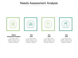 Needs Assessment Analysis Ppt Powerpoint Presentation Portfolio Slide Download Cpb