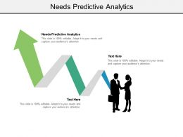 Needs Predictive Analytics Ppt Powerpoint Presentation Summary Brochure Cpb