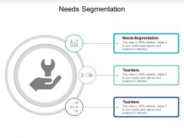 Needs Segmentation Ppt Powerpoint Presentation Model Inspiration Cpb