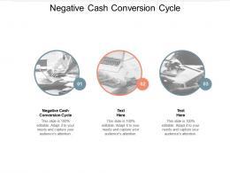 Negative Cash Conversion Cycle Ppt Powerpoint Presentation Ideas Slideshow Cpb