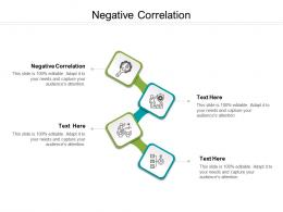Negative Correlation Ppt Powerpoint Presentation Pictures Files Cpb