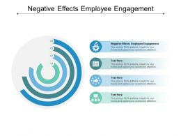 Negative Effects Employee Engagement Ppt Powerpoint Presentation Model Example Introduction Cpb