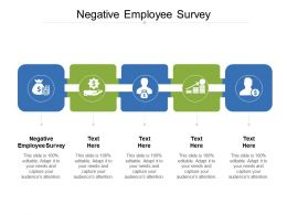 Negative Employee Survey Ppt Powerpoint Presentation Infographic Template Gallery Cpb
