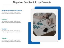 Negative Feedback Loop Example Ppt Powerpoint Presentation Gallery Inspiration Cpb