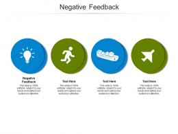 Negative Feedback Ppt Powerpoint Presentation Infographics Aids Cpb