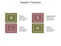 Negative Feedback Ppt Powerpoint Presentation Summary Template Cpb