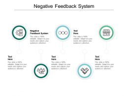 Negative Feedback System Ppt Powerpoint Presentation Summary Slide Portrait Cpb